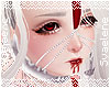Mandible Headdress |Red