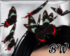 Butterfly Hair Black