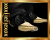 [L] GOLD Tip Boots M