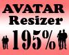 Avatar Scaler 195% / F