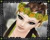 {D} Marigold wreath
