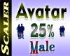 Avatar Resizer 25%