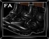(FA)Boots Black