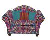 Boho Cuddle Chair