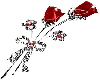 sparklin rose pin