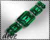 ! Emerald Bracelet lft