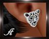 (T)Earrings Tiger Silver