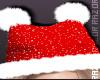 Kitty Beanie  Santa