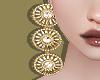 Tri Circle Earrings