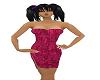 tight hot pink dress 2