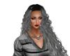 Gabbie Dark Silver Curls