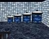 Blu & Silvr Canister Set