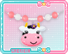 Kids Cow Necklace
