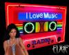 I Love Music Cassette