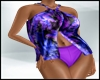 Tropical Purple Swimwear
