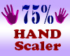 Resizer 75% Hand