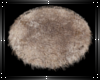 Grizzly fur rug