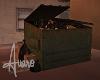 Dirty Trash Dumpster