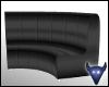 Inner sofa black