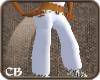 .CB. White Burberry Pant