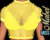 ! Punk Top Yellow