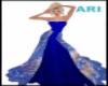 desinger peacock dress