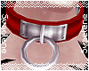 M| O Ring Collar |Red