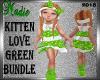 Kitten Love Green Kids
