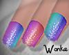 W° Pride Nails 2 .Short