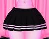 School Boy Skirt Black
