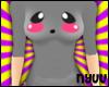 *Nyuu* Kawaii Face GREY