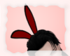 A: Blk & red bunny ears
