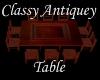 (S)Classy Antiquey Table