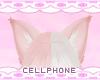pink cat ears ❤