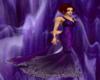 Amethyst Fire Gown