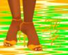 *NDC* Orange Sandals