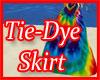 Tie-Dye Hippie Skirt