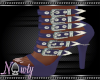 Vinyl Doll Slate Heels