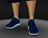 mens navy blue sneakers