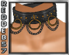 Copper Leather Choker