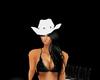 [LD] Cow-girl hat white