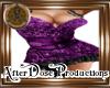 AD! Purple Party Dress