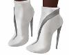 E* White boots