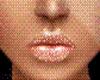 Lips glitter