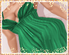 [c] Emerald Draped Gown