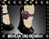 {UU}Black Dahlia Wedge