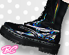|bc| Blk Rainbow boot