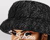 ṩFur Hat Black