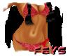 (F)Itsy Bitsy Red Bikini