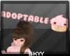 Adoptable Sign